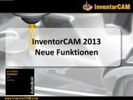Präsentation downloaden - InventorCAM CAM Software