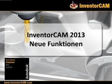 Präsentation downloaden - InventorCAM CAM Software