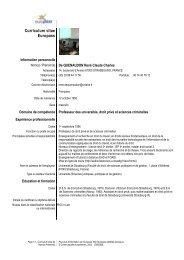 CV René de Quenaudon - Social-law.net