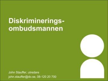 Diskriminerings- ombudsmannen - Krus