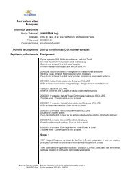 CV Anja JOHANSSON - Social-law.net