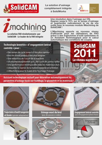Brochure iMachining FR pour web - SolidCAM