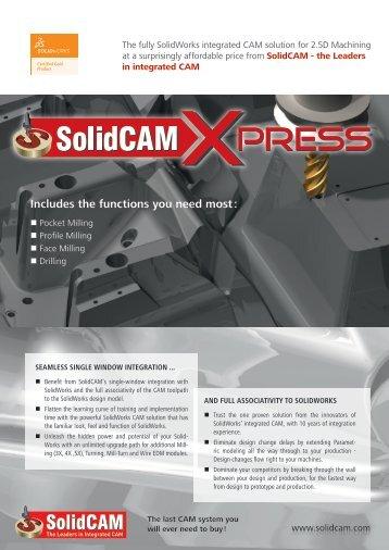 SolidCAM Xpress (PDF)