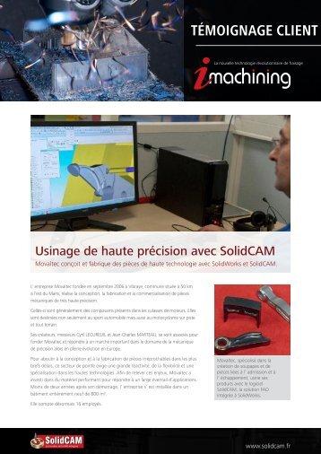 Découvrir l'histoire complète (PDF) - SolidCAM
