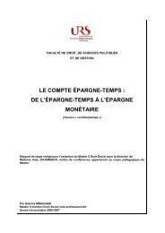 Rapport de stage S. Mraouahi - Social-law.net