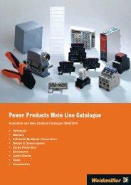 Power Products Main Line Catalogue - elektrykasklep.pl