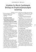 Konklusjon - Norsk Cardiologisk Selskap - Page 7