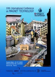 Click here to download the abstract booklet in pdf format - MT19 - Infn