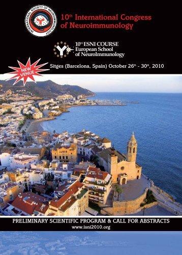 Programma Preliminare ISNI - ISNI2010   X International Congress ...