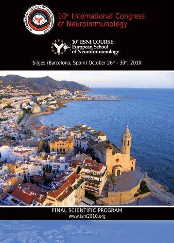 10th International Congress of Neuroimmunology - ISNI2010   X ...