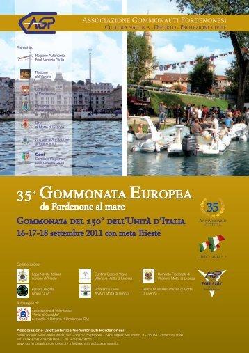 35° Gommonata Europea da Pordenone al mare 16