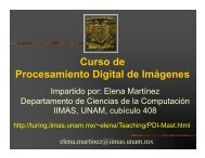 filtro inverso - Departamento de Ciencias de la Computación - UNAM