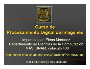 en color - Departamento de Ciencias de la Computación - UNAM
