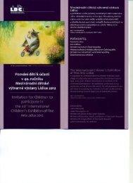 vYtvarné vystavy Lidice 2012