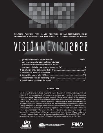 Políticas Públicas para el Uso Adecuado de las Tecnologías de la ...