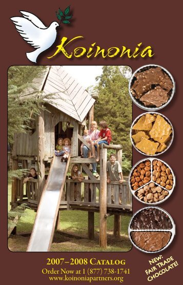 2007– 2008 Catalog - Koinonia Farm