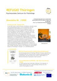 Newsletter Nr. 1/2008 - Refugio Thüringen e.V.