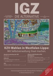 DIE ALTERNATIVE - IGZ