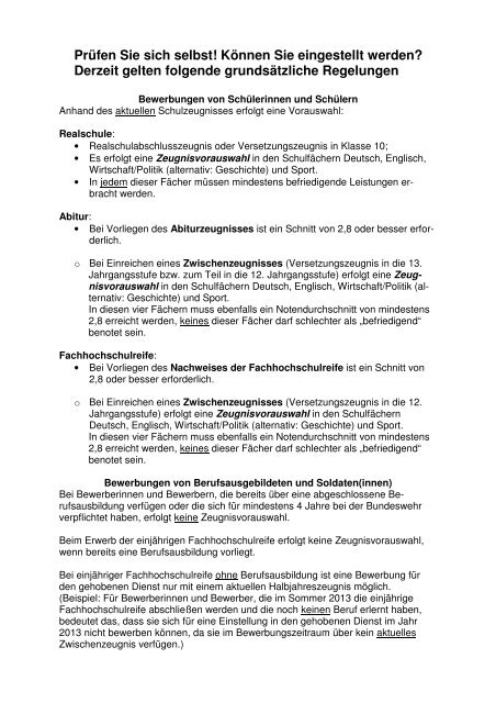 Pd Afb Sh Werbe Und Einstellungsstelle Hubertushoh