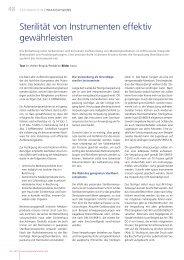Sterilität von Instrumenten effektiv gewährleisten - iwb-consulting.info