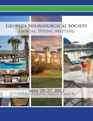 2012_GNS_Exhibitor_P.. - Georgia Neurosurgical Society