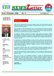 NewsLetter Hiver / Printemps 2004 - afs-asso.org