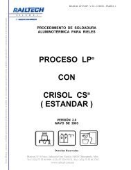 Manual Soldadura LP con crisol estandar CS ... - railtech.com.mx