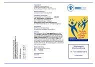 Schulung zur Elternkursleitung 19. – 21.Oktober 2012 - Deutscher ...