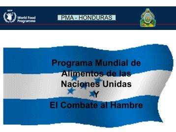 PMA en Honduras - Universidad Nacional de Agricultura