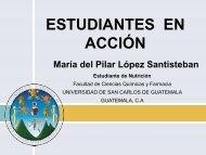 Miss. Pilar López Santisteban - USAC - Guatemala
