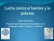 Miss. Ismaer Saenz Solis - UNED - Costa Rica - Universidad ...