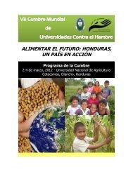 Programa de la Cumbre - Universidad Nacional de Agricultura