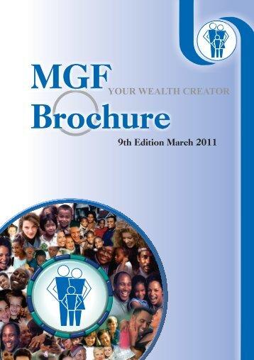 MGF Brochure - 9th Edition (March 2011) - Mymgf.co.za