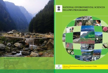 Booklet - Ministry of Environment and Forests