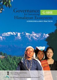G-SHE - Govind Ballabh Pant Institute of Himalayan Environment