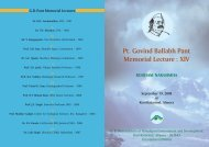 Cover Pages - Govind Ballabh Pant Institute of Himalayan ...