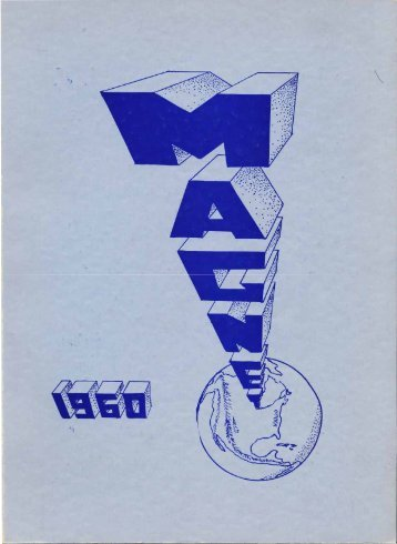 1960 Magnet Yearbook