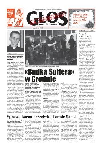 Głos znad Niemna 13/2009 - Kresy24.pl