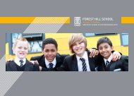 click here - Forest Hill School