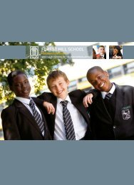 Prospectus 2010 - Forest Hill School