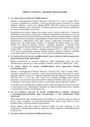 Część 2 - Ministerstwo Rolnictwa i Rozwoju Wsi