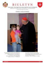 BIULETYN NR 25 30-Nov-2011 - Zakon Maltański Polska