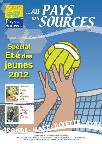 Journal 60 - Communauté de Communes du Pays des Sources