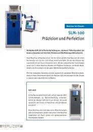SLM-100 Präzision und Perfektion - Realizer