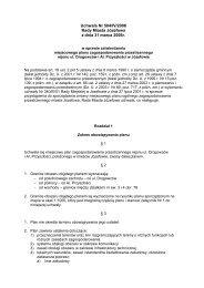 Uchwała Nr 504/IV/2006 Rady Miasta Józefowa z dnia 31 marca ...
