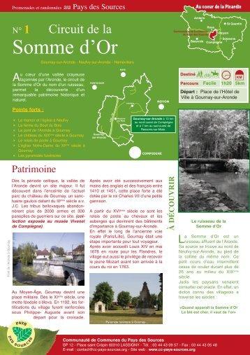 les circuits du Pays des Sources (Pdf - 3,5Mo) - Communauté de ...