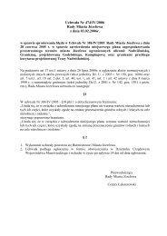 Uchwała Nr 474/IV/2006 Rady Miasta Józefowa z dnia 03.02.2006r.