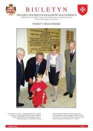 BIULETYN NR 23 02-Nov-2010 - Zakon Maltański Polska