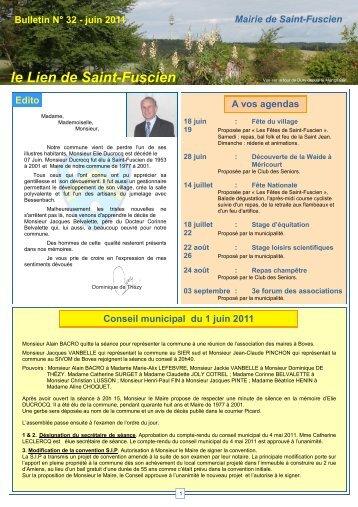 Lien n°32 - juin 2011 - Saint-Fuscien