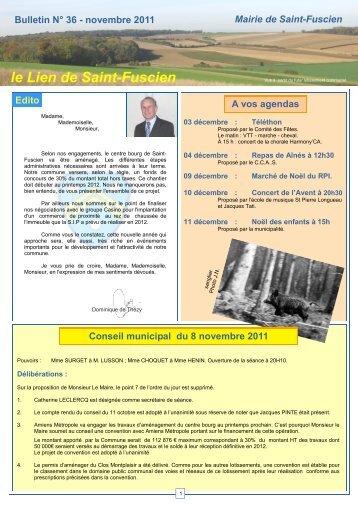 Lien n°36 - novembre 2011 - Saint-Fuscien